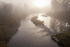 Foggy Sunrise, Middle Fork Feather River, Blairsden CA