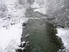 Snow Falling on Grayeagle Creek, Graeagle CA