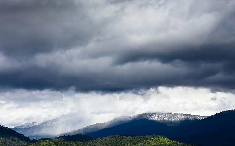 Layers of a Spring Storm, Indian Valley, Plumas County CA
