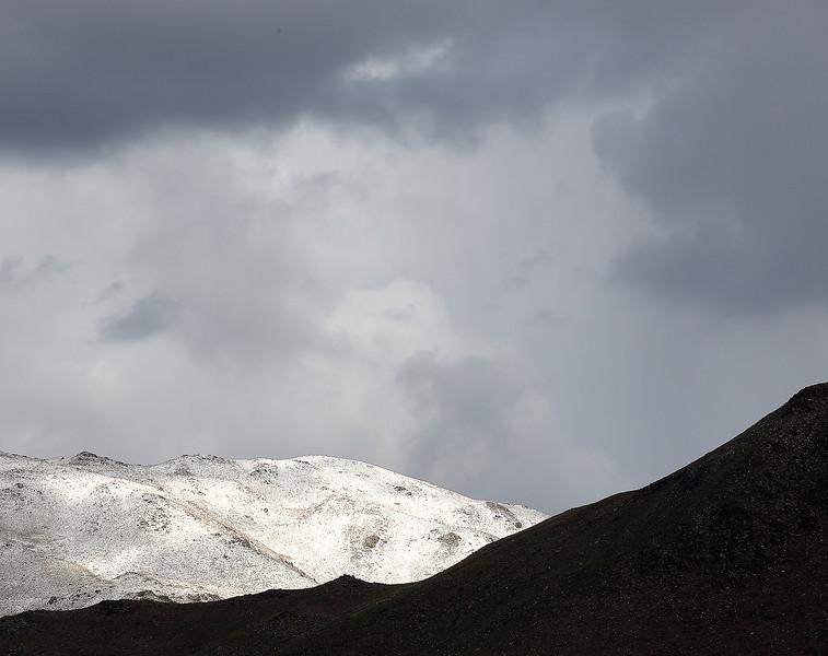 Fresh Snow, Memorial Weekend, Near Hallelujah Junction, Plumas County CA