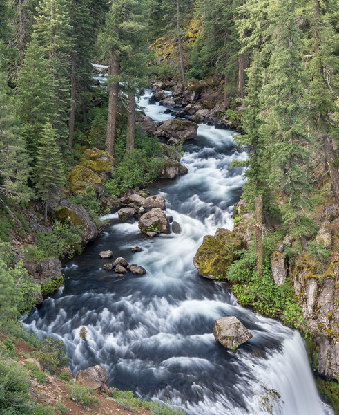 Spring Run-off on Upper McCloud River