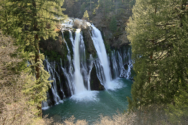 Burney Falls, Macarthur Burney Falls State Park, CA