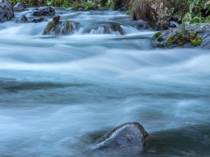 Flowing Water on McCloud River