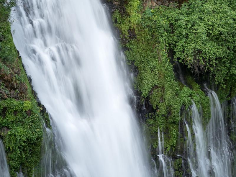 Cross-Section of Burney Falls