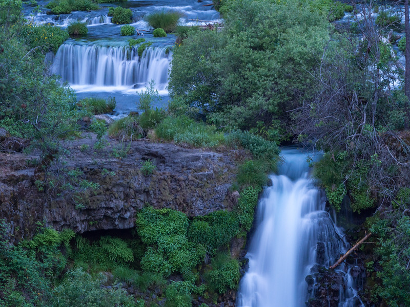 Section of Burney Falls