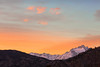 Sonora Pass Sunrise and an Autumn Covering of Snow