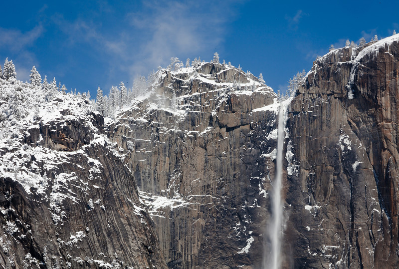 Yosemite Falls after Spring Storm
