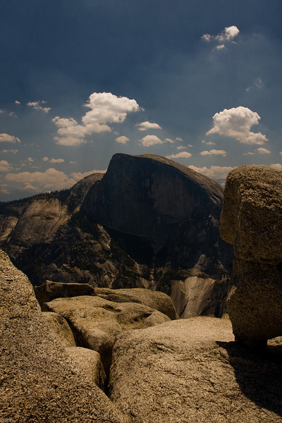 Half Dome taken from North Dome