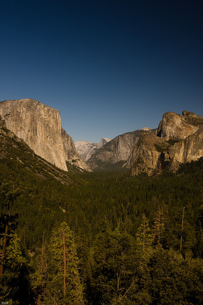 Yosemite Valley from Discovery View