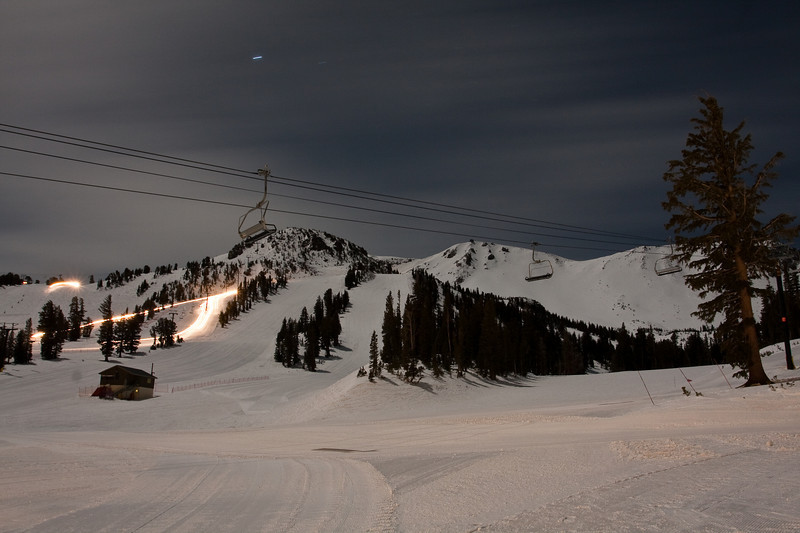 Mammoth Mountain - The Racing Hill