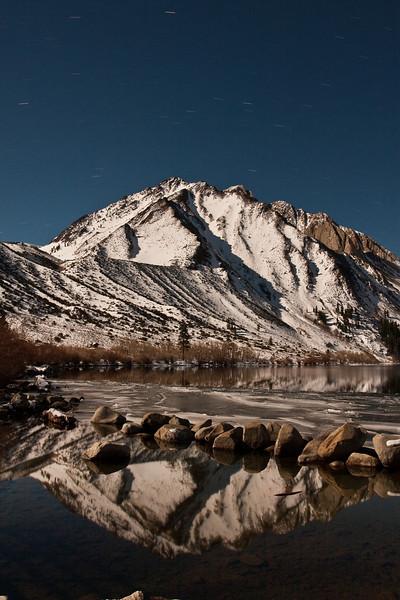 Convict Lake, Mono Jim Peak, and Mt. Morrison