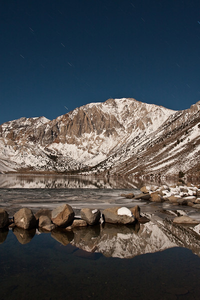 Convict Lake and the Sevenhah Cliffs