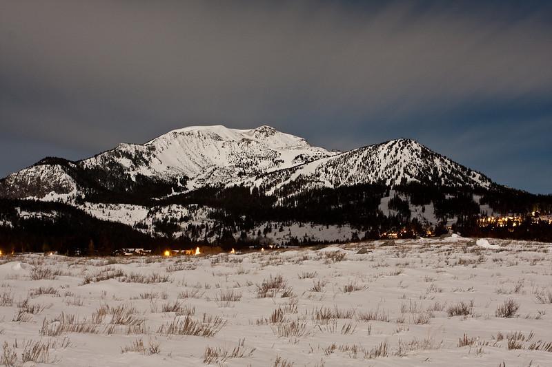 Mammoth Mountain from Sherwin Meadow