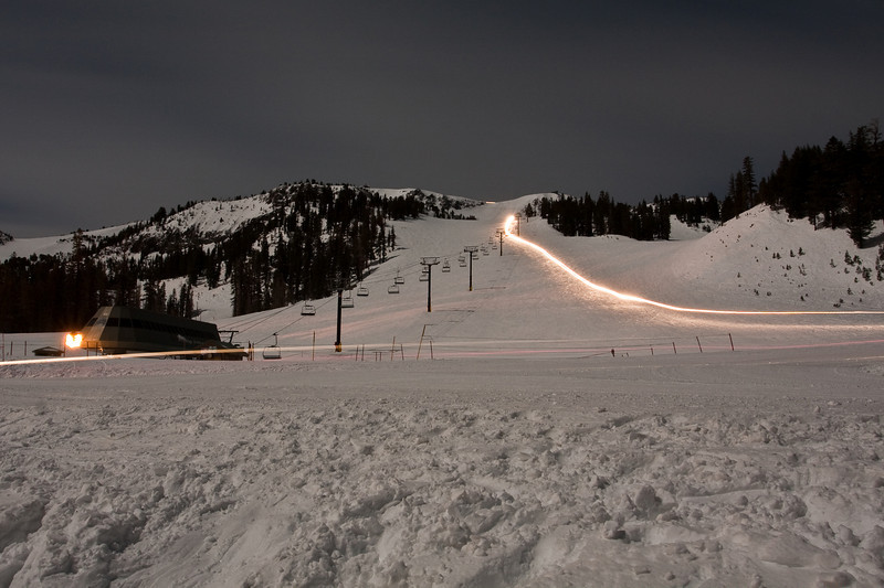 Mammoth Mountain - Stump Alley and Chair 2