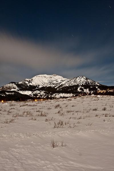 Mammoth Mountain and Sherwin Meadow