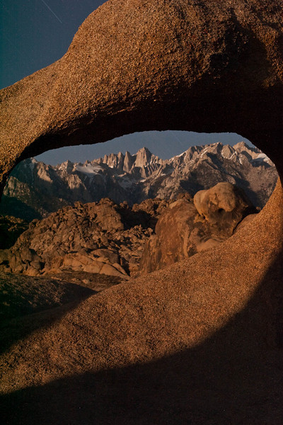 IMG_6162 Whitney Arch and Mt. Whitney at night