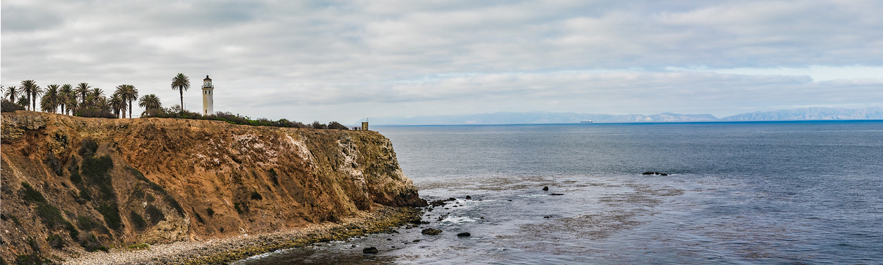 California Lighthouse and Cliff