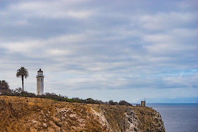Cliffside Lighthouse in Pacific