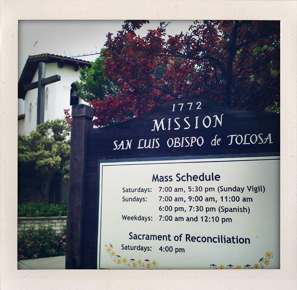Mission San Luis Obispo de Tolosa @ San Luis Obispo