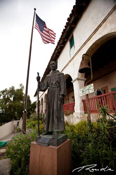 Father Serra statue