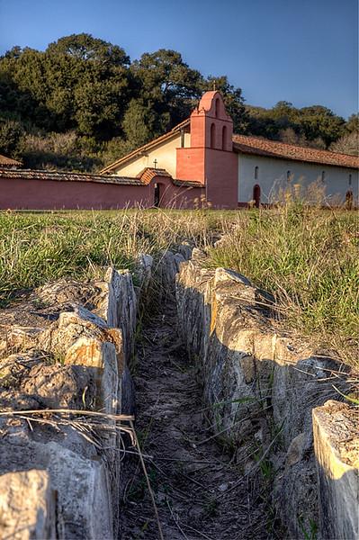 Irrigation trench, Mission La Purisima