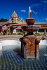 Fountain at Mission San Carlos.