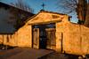 Cemetery entrance, Mission San Miguel.