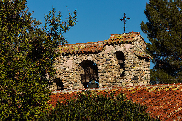 Bell tower, Mission San Miguel.