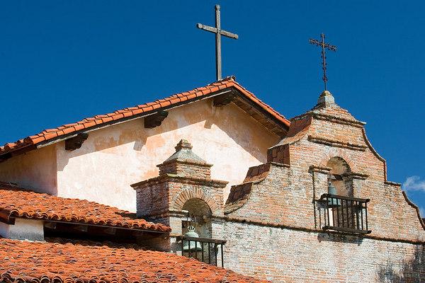 Detail of Mission San Antonio.