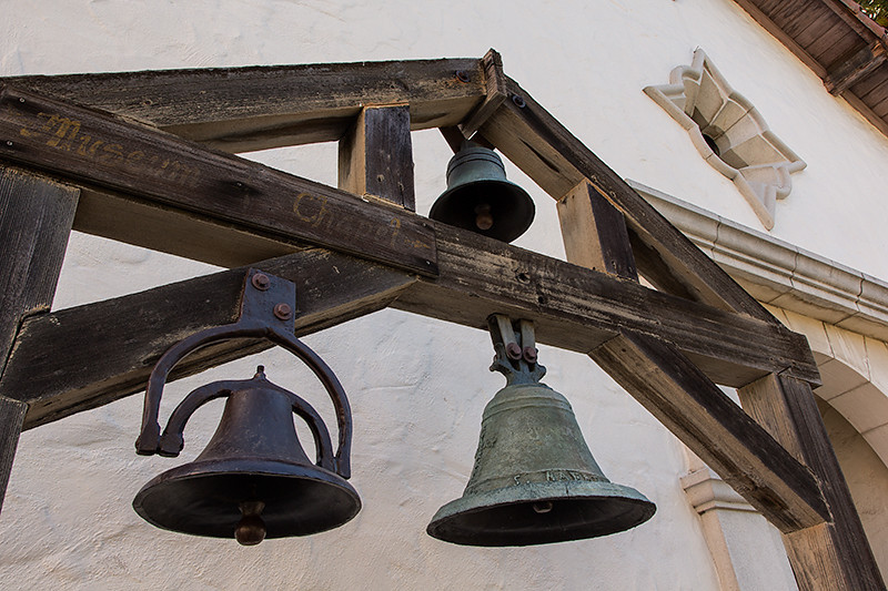 Bell Frame of Mission San Rafael Arcangel.