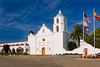 Founded in 1798, San Luis Rey is the eighteenth mission in the chain. It was a very successful mission and one of the largest , most prosperous and most beautiful. After secularization it continued to function as a church but fell into disrepair. It was returned to the church in 1865 and restoration began in 1892.