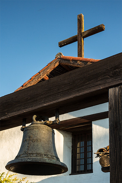 Bell frame, Mission San Francisco Solano