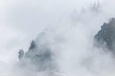 Clearing Clouds at Glacier Point, Yosemite
