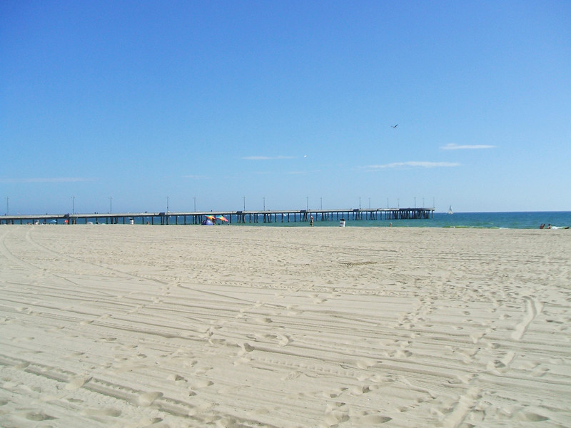 Venice Pier.<br /> <br /> I rode the Sea portion on Friday afternoon.