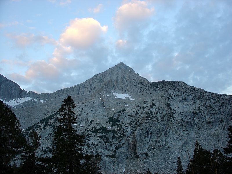 Arrow Peak at Dawn.