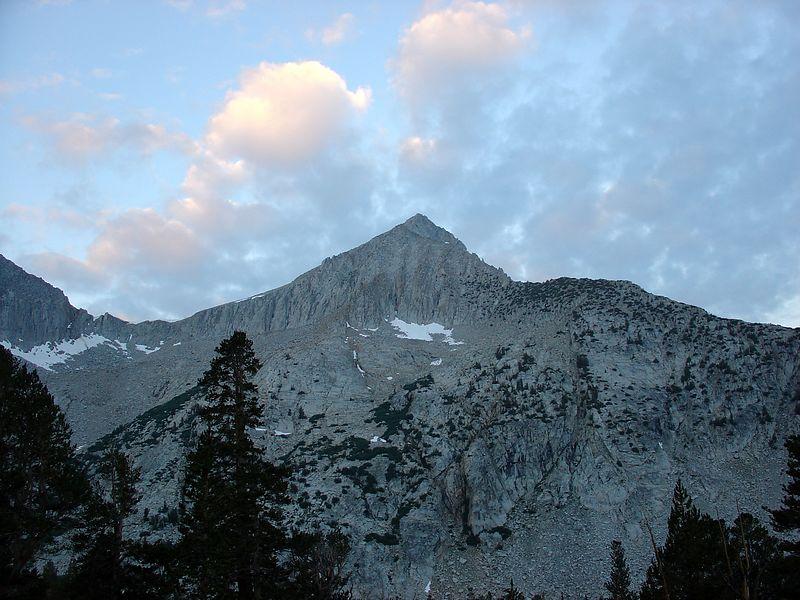 Arrow Peak at Dawn.