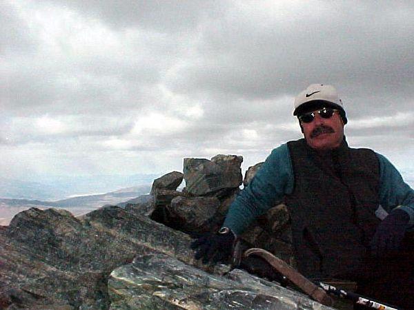 Summit self-portrait.