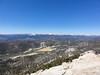 Trail Peak summit view.<br /> <br /> Mulkey Meadow.