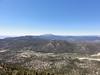 Trail Peak summit view.<br /> <br /> Olancha Peak.