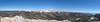 Trail Peak summit panorama.