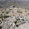 Butterbredt Peak summit view.<br /> <br /> Motorcycle tracks.