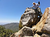 """Sorrell Peak summit self-portrait.<br /> <br /> The only """"repeat"""" of the day. Everything else is new."""