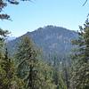Smith Mountain thru the trees.
