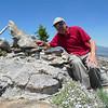Granite Knob summit self-portrait.