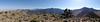 Peak 6370 summit panorama.