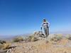 Peak 6370 summit self-portrait.
