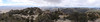 Scodie Mountain summit panorama.
