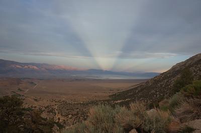Owens Valley Sunbeams - June 14, 2012