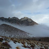 The ridge leading up to Owens Peak.