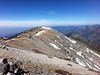 Mt. Baldy summit view.<br /> <br /> West Baldy and Iron Mountain.
